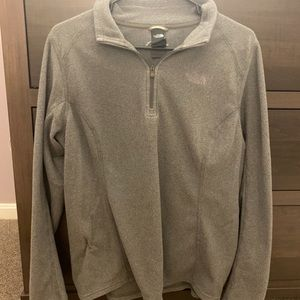 The north face fleece half zip